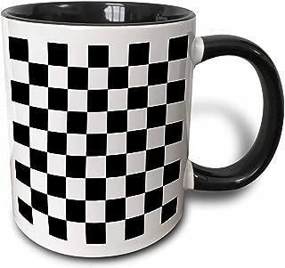 3dRose 154527_9 Mug 15oz Black/White