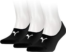 Puma heren Footie 3p sportsokken, zwart (Black 200), 39/42 (fabrikantmaat: 039) (verpakking van 3 stuks)