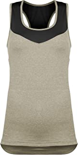 Women's Cycling/Running Racerback Tank Top with Pockets