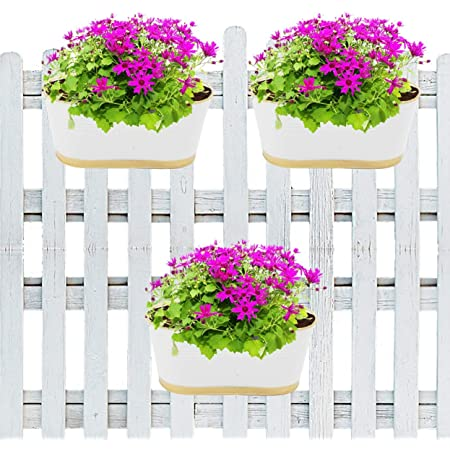 SET OF 2 11.9 Table cum floor Planter pots ,planter with stand indooroutdoor,planter with drainage,metal planter with stand,planter pot