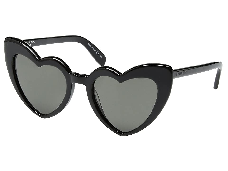 Saint Laurent SL 181 Loulou (Black/Grey) Fashion Sunglasses