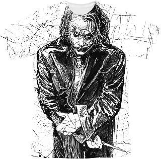 The Dark Knight Heath Ledger Sketchy Joker T Shirts & Stickers