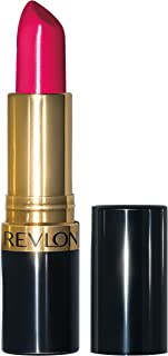 Revlon Super Lustrous Lipstick, High Impact Lipcolor with Moisturizing Creamy Formula, Infused with Vitamin E and Avocado Oil in Red / Coral, Cherries in the Snow (440)