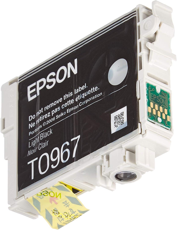 Epson T0968 Tintenpatrone Husky Singlepack Matt Schwarz Bürobedarf Schreibwaren
