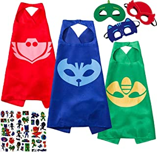 pj masks cape and mask set