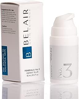 Bel Air Skin Science Instant Blur Face Primer Pore Eraser, Skin Smoother, Makeup Primer Anti Aging Cream 0.5 Ounce