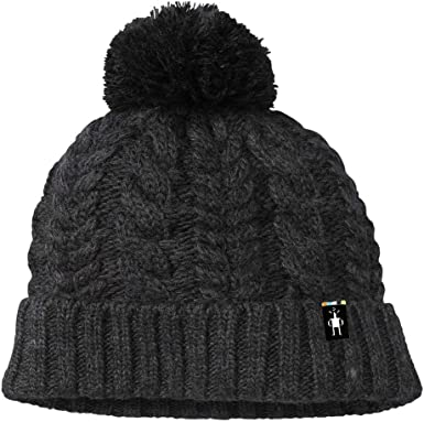 Amazon.com: Smartwool Ski Town Hat Charcoal Heather One Size : Sports &  Outdoors