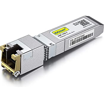 10GBase-T SFP+ Transceiver, 10G T, 10G Copper, RJ-45 SFP+ CAT.6a, up to 30 Meters, Compatible with Cisco SFP-10G-T-S, Ubiquiti UF-RJ45-10G, Netgear, D-Link, Supermicro, TP-Link, Broadcom and More. …