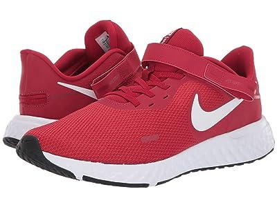 Nike Flyease Revolution 5 (Gym Red/White/Black) Men