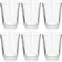 Royalford 6Pc 8Oz Glass Tumbler