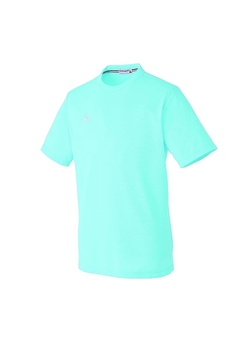 検閲独裁先生介護ユニフォーム Tシャツ 男女兼用 ルコック アクア サイズ:M UZL3016-4