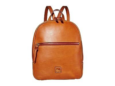 Dooney & Bourke Florentine Ronnie Backpack (Natural/Self Trim) Backpack Bags