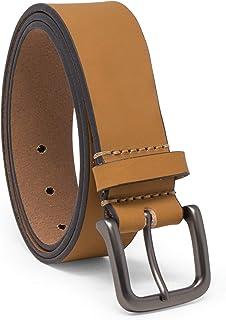 حزام جينز جلدي كلاسيكي رجالي 35 مم من Timberland