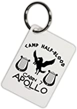 TooLoud Cabin 7 Apollo Camp Half Blood Aluminum Keyring Tag