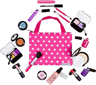PixieCrush Pretend Makeup Play Deluxe 16 Piece Set for Children