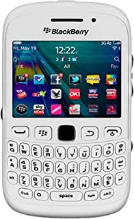 BlackBerry Curve 9320 QWERTY (GSM Only, No CDMA) Factory Unlocked 2G GSM 3G Simfree Cell Phone (White) - International Ver...