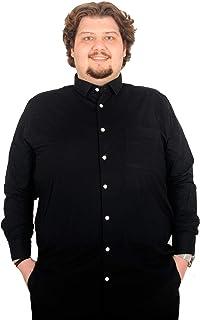 Mode XlBuyuk Beden Erkek Uzun Kollu Cepli Likra Gomlek 171