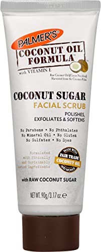 Palmer's Coconut Oil Formula Sugar Facial Scrub, 3.17 oz.