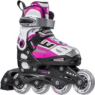 5th Element G2-100 Adjustable Girls Recreational Inline Skates, Black and Pink Rollerblades