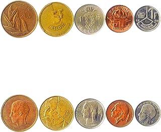 هواية الملوك عملات مختلفة - العملات الأجنبية القديمة للتحصيل من بلجيكا لجمع الكتب - مجموعات فريدة من المال التذكارية العال...