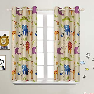 Best animal blackout curtains Reviews