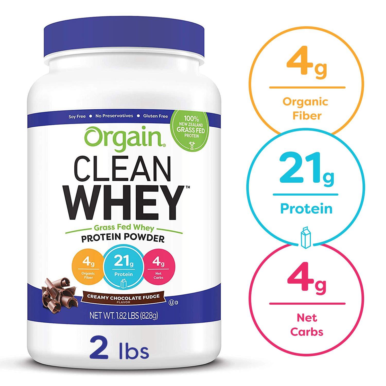 Orgain Protein Powder Chocolate Non GMO