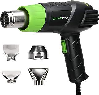 comprar comparacion Pistola de Aire Caliente, GALAX PRO 2000W Dos Niveles de Temperaturay Tlujo de Aire Ajustables (Ⅰ: 350 ℃ 250L / min, Ⅱ: 55...
