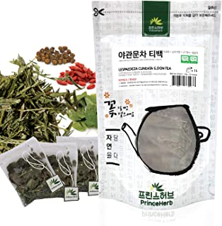 [Medicinal Korean Herb Tea] 100% Natural Male Enhancement Tea (Lespedeza Cuneata G. Don, Horny Goat Weed, Goji Berries & F...