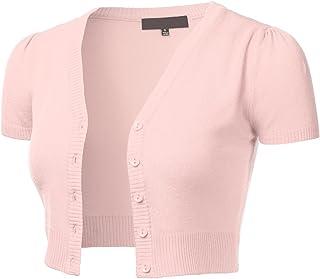 Lymanchi Women Short Sleeve Cardigans Open Front Soft Lightweight Drape Long Vest