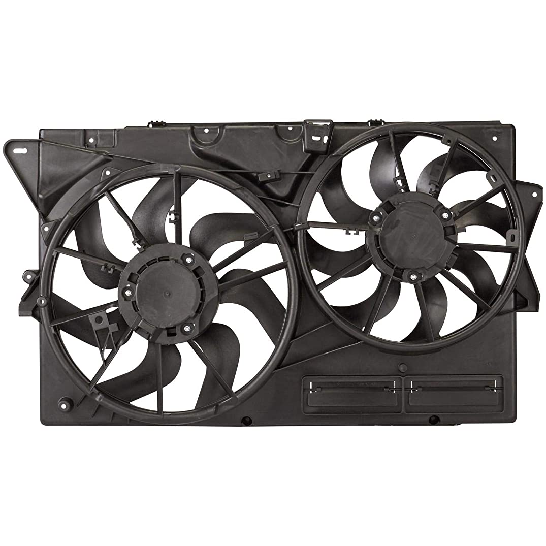 Spectra Premium CF15109 Dual Radiator And Condenser Fan Assembly