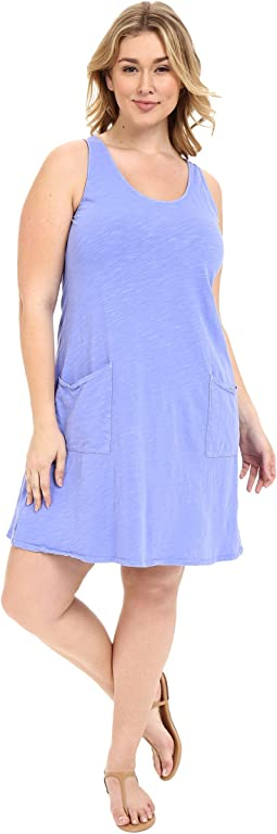 Plus Size Drape Dress