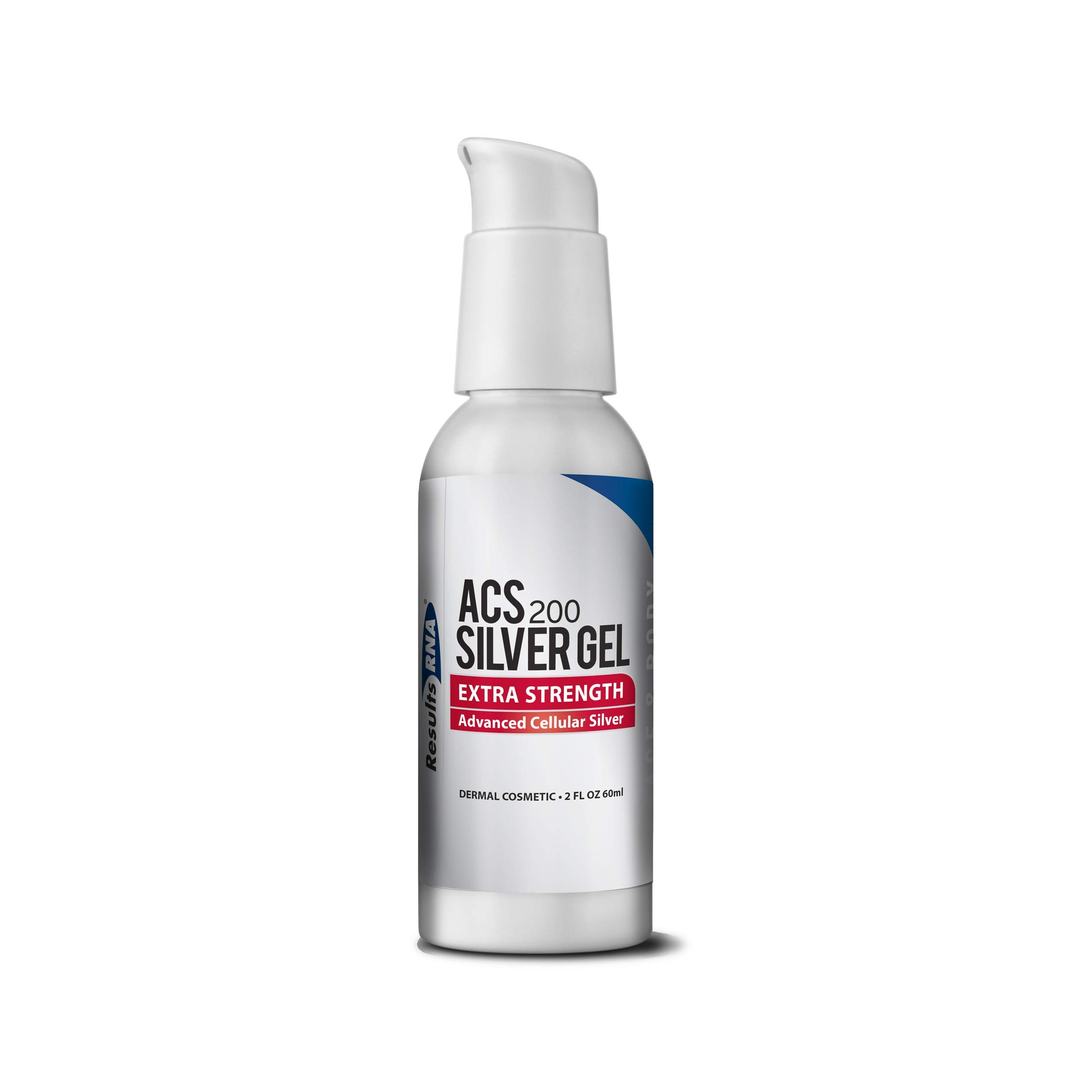 Results RNA ACS 200 Colloidal Silver Gel Extra Strength   Advanced Cellular Silver Topical Gel for Sunburn, Wounds, Rashes, Skin Irritations (2 Ounce)