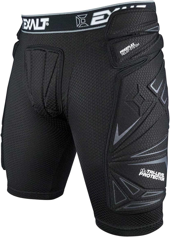 Exalt Paintball FreeFlex Slide Shorts  Black