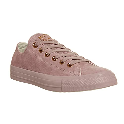 4d6891afecd8 Converse CTAS Chuck Taylor All Star OX Premium Suede Burnished Lilac Rose  Gold Exclusive