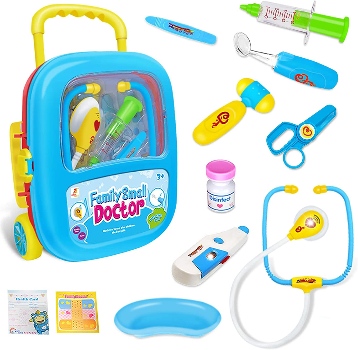 Ditucu Kids Doctor Kit Pretend Play Popularity Girls for Set Toys Chi Classic Boys