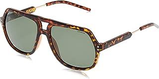 Polaroid Men's PLD 2035/S RC NHO Sunglasses, Havana Gold/Green Pz, 58