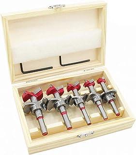 flintronic Pluggenboor, houtboorset, (15 ~ 35 mm) Forstner boor, bitset, houtboor, potboor, kunstboor voor houtbewerking m...