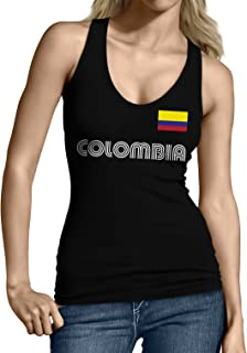 SpiritForged Apparel Colombia Soccer Jersey Junior's Tank Top