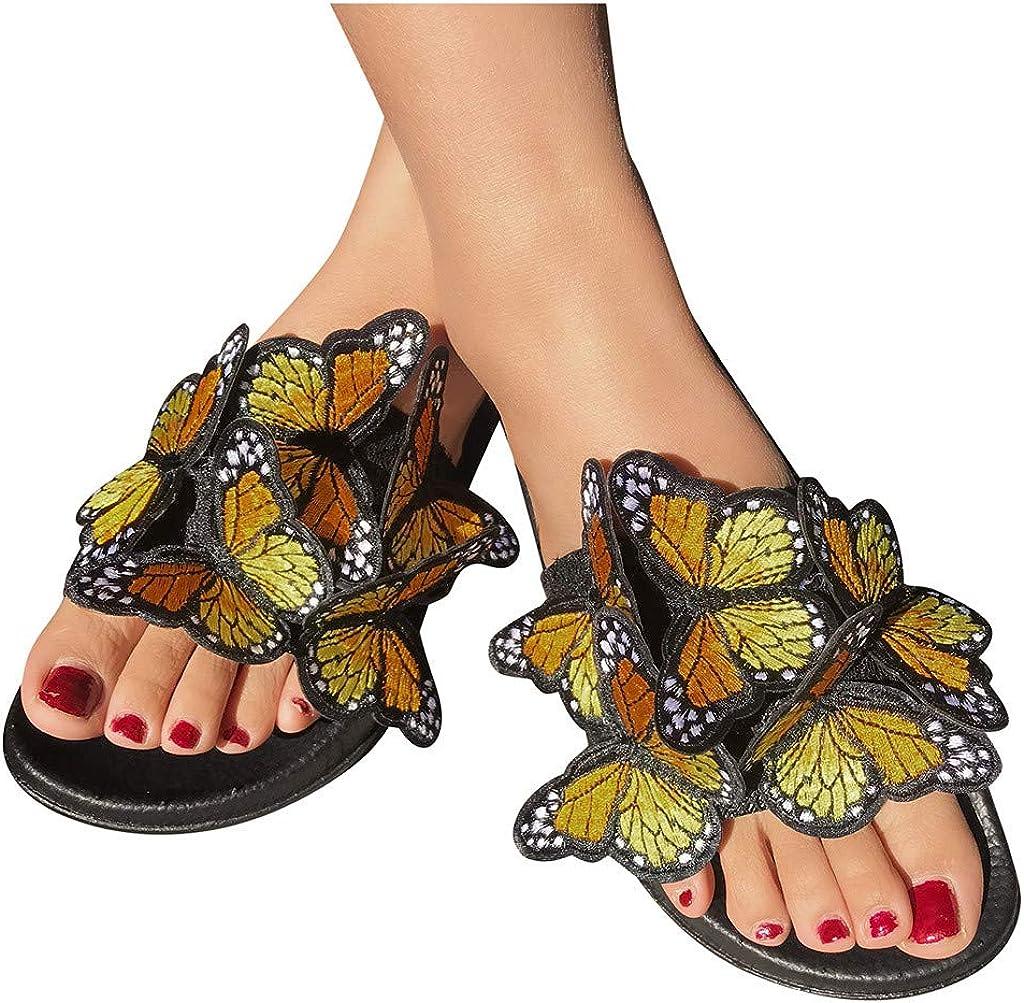 AOKASII Sandals for Women Flat,Women's 2021 Comfy Platform Sanda