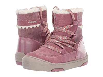 Geox Kids Jayj 1 (Toddler) (Dark Pink) Girls Shoes