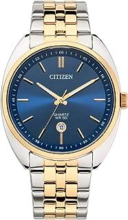 CITIZEN Mens Quartz Watch, Analog Display and Stainless Steel Strap - BI5096-53L