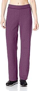 Hanes Women's Fleece Pant Open Leg Sweatpants, Regular S - 2XL