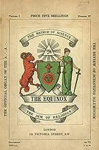 THE EQUINOX: KEEP SILENCE EDITION, VOL.: Keep Silence Edition, Vol. 1, No. 4