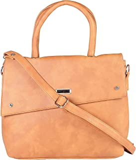 REBOOT Women's Handbag (Angle Flap) leather handbags for girls stylish latest
