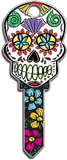 Best Lucky Line Key Shapes, Sugar Skull, House Key Blank, KW1/11, 1 Key (B136K) Review