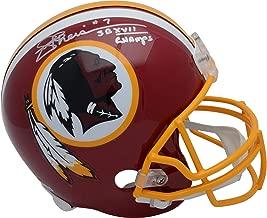 Joe Theismann Washington Redskins Autographed Riddell Replica Helmet with
