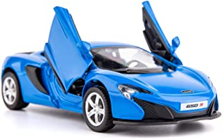 TGRCM-CZ 1/36 Scale S650 Casting Car Model, Zinc Alloy Toy Car for Kids, Pull Back Vehicles Toy Car for Toddlers Kids Boys Girls Gift (Blue)