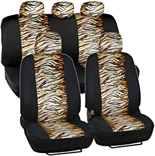 tiger print seat covers
