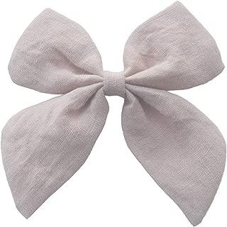 Fabric Bows Hair bow Hair Clips Sailor Bow Clips Cotton Fabric bow Hairgrips Girls Women Hair Accessories Headwear