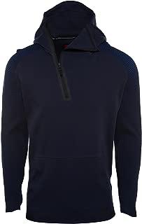Nike Sportswear Tech Fleece Half Zip Hoodie Mens Style: 805655-451 Size: XL Navy Black
